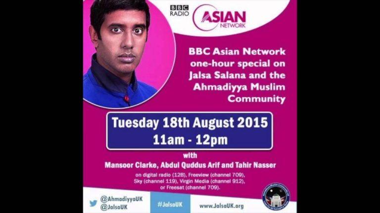 Jalsa Salana UK 2015 on BBC Asian Network