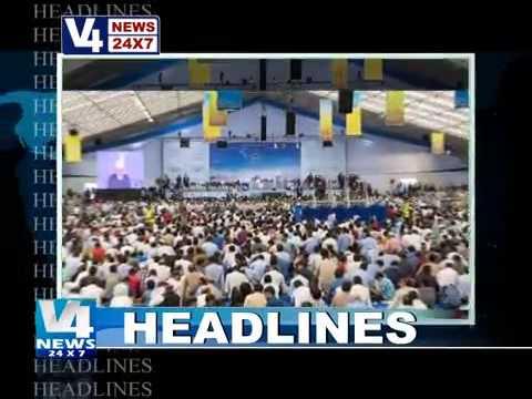 Ahmadiyya Jalsa UK 2015 News on V4News TV Channel of Mangalore India