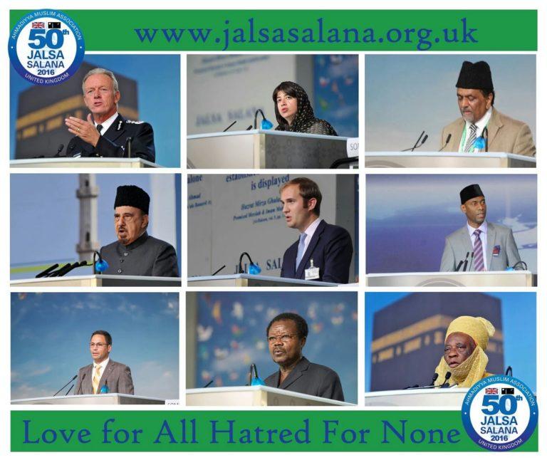 Jalsa Salana UK 2016 – Day 3 – Sunday Morning Session Including International Baiat