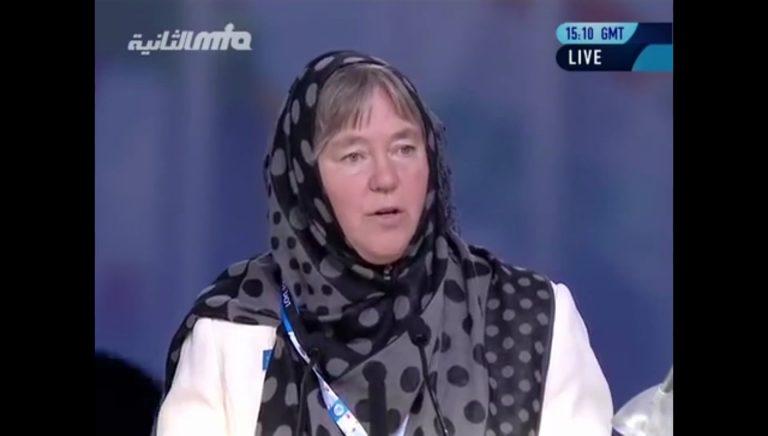 Deborah Schulte, MP Canada at Jalsa Salana UK 2016