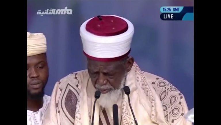 Dr. Sheikh Osman Nuhu Shrabutu, Chief Imam of Ghana at Jalsa Salana UK 2016
