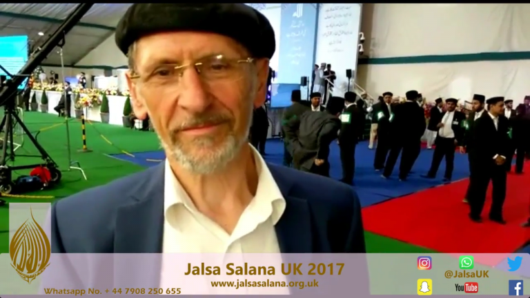 Abdullah Wagishauser Sahib / National Ameer Sahib,Germany – Jalsa Salana UK 2017