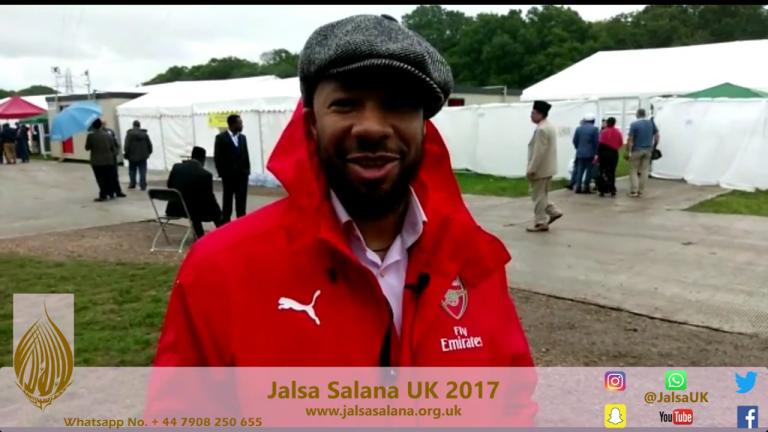 Hamza Ilyaza / Jalsa Salana UK 2017